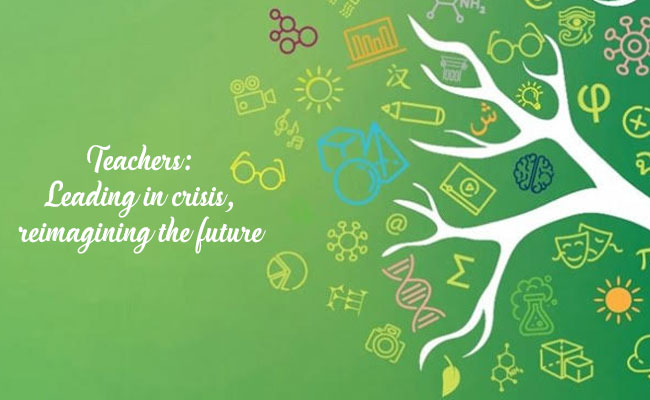 World Teachers Day 2020 logo