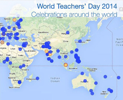 World Teachers' Day 2014 - Celebrations around the world